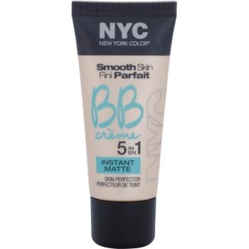 NYC Smooth Skin Instant Matte BB crème matifiante teinte 01 Light 30 ml