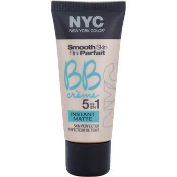 NYC Smooth Skin Instant Matte BB crème matifiante teinte 02 Medium 30 ml