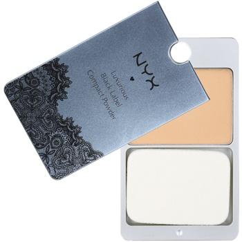 NYX Professional Makeup Black Label poudre compacte teinte 14 Medium Beige 13 g