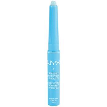 NYX Professional Makeup Concealer Stick correcteur waterproof teinte 12 Green 1,4 g
