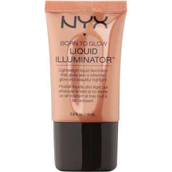 NYX Professional Makeup Born To Glow enlumineur teinte 04 Sun Goddess 18 ml