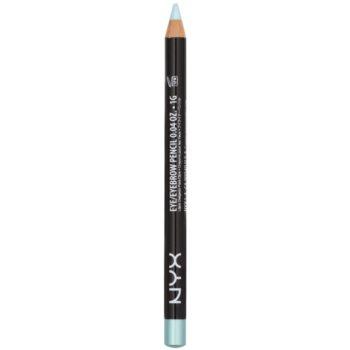 NYX Professional Makeup Slim crayon yeux et sourcils teinte Baby Blue 1 g