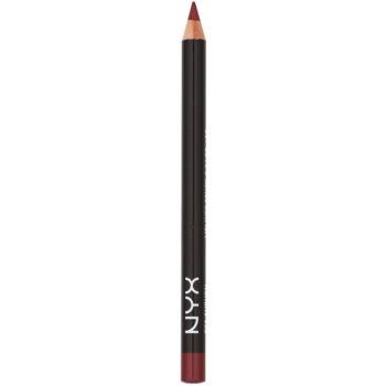 NYX Professional Makeup Slim crayon à lèvres teinte Auburn 1 g