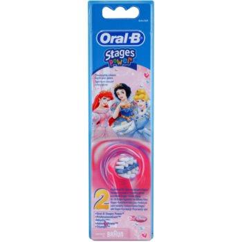 Oral B Stages Power EB10 Princess têtes de remplacement pour brosse à dents extra soft (For Girls) 2 pcs