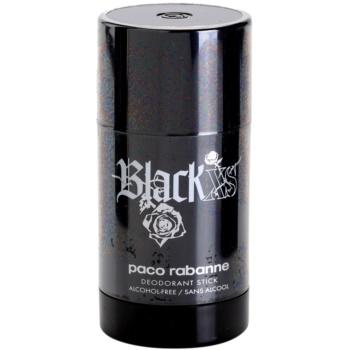Paco Rabanne XS Black dédorant stick pour homme 75 ml