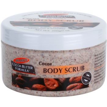 Palmer's Hand & Body Cocoa Butter Formula gommage corporel effet hydratant (Moisturizes & Smoothes with Vitamin E) 200 g