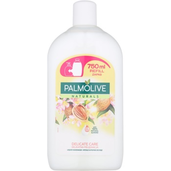 Palmolive Naturals Delicate Care savon liquide mains recharge (With Almond and Moisturising Milk) 750 ml
