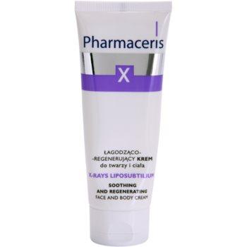 Pharmaceris X-Rays - Skin After Radiotherapy X-Rays Liposubtilium crème régénérante et apaisante visage et corps 75 ml
