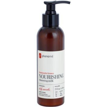Phenomé Daily Miracles Anti-Aging lait nettoyant nourrissant pour tous types de peau (Sustainable Science) 200 ml