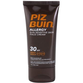 Piz Buin Allergy crème solaire visage SPF 30 (Sun Sensitive Skin Face Cream) 50 ml