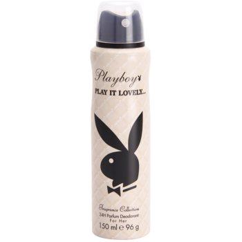 Playboy Play It Lovely déo-spray pour femme 150 ml