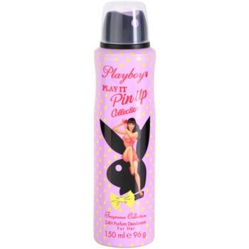 Playboy Play It Pin Up 2 déo-spray pour femme 150 ml