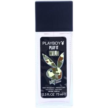 Playboy Play it Wild déodorant avec vaporisateur pour homme 75 ml