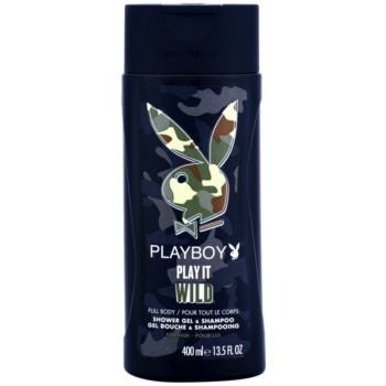 Playboy Play it Wild gel douche pour homme 400 ml