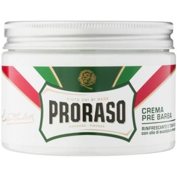 Proraso Green crème avant-rasage (Eucalyptus Oil and Menthol) 300 ml