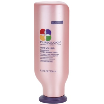 Pureology Pure Volume après-shampoing volume pour cheveux fins et colorés (Conditioner for Fine Colour-Treated Hair) 250 ml