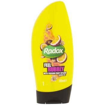 Radox Feel Gorgeous Feel Bubbly gel de douche Passion Fruit Splash 250 ml