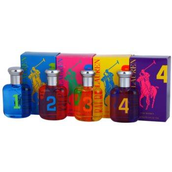 Ralph Lauren Collection Big Pony coffret cadeau II. 1 Blue + 2 Pink + 3 Yellow + 4 Purple eau de toilette