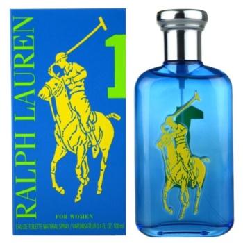 Ralph Lauren The Big Pony Woman 1 Blue eau de toilette pour femme 100 ml