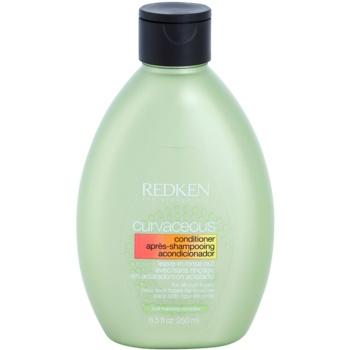 Redken Curvaceous après-shampoing pour cheveux bouclés ou permanentés (Conditioner for All Curl Types, Curl Memory Complex) 250 ml