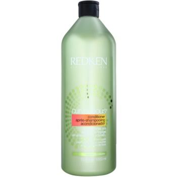 Redken Curvaceous après-shampoing pour cheveux bouclés ou permanentés (Conditioner for All Curl Types, Curl Memory Complex) 1000 ml