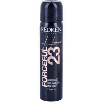 Redken Hairspray laque cheveux fixation extra forte (Forceful 23 Super Strength Finishing Spray) 75 ml