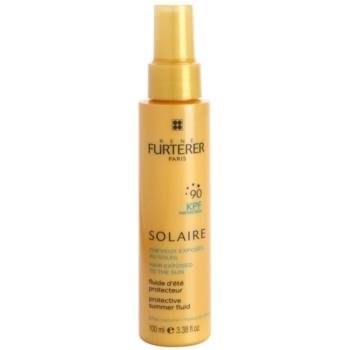 Rene Furterer Solaire fluide protecteur pour cheveux exposés au chlore, au soleil et à l'eau salée (Natural Effect) 100 ml