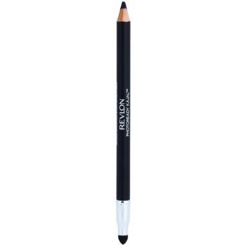 Revlon Cosmetics Photoready Kajal crayon yeux avec applicateur teinte 301 Matte Coal 1,22 g