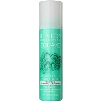Revlon Professional Equave Volumizing après-shampoing sans rinçage en spray pour cheveux fins 200 ml