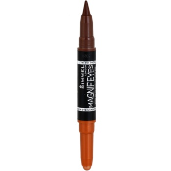 Rimmel Magnif´ Eyes fard à paupières et crayon khol teinte 002 Kissed By A Rose Gold 1,6 g