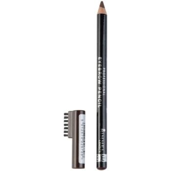 Rimmel Professional Eyebrow Pencil crayon pour sourcils teinte 001 Dark Brown 1,4 g