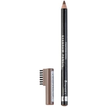Rimmel Professional Eyebrow Pencil crayon pour sourcils teinte 002 Hazel 1,4 g