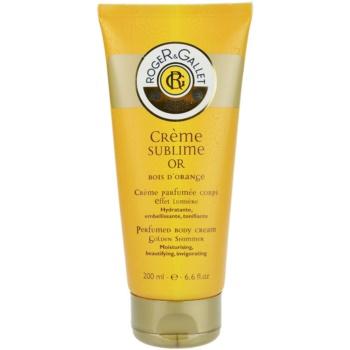 Roger & Gallet Bois d´Orange Sublime crème corporelle (Perfumed Body Cream – Moisturising, Beautifying, Invigorating) 200 ml