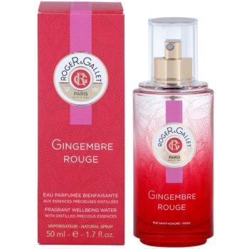 Roger & Gallet Gingembre Rouge eau rafraîchissante pour femme 50 ml