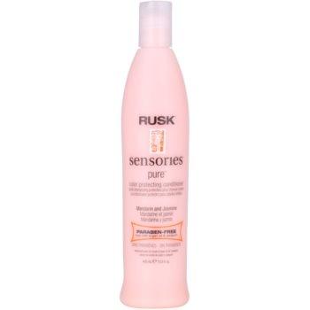 Rusk Sensories Pure après-shampoing nourrissant pour cheveux colorés sans parabène (Mandarin&Jasmine) 400 ml