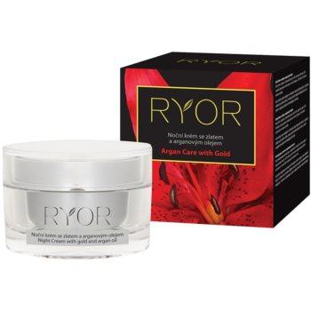 RYOR Argan Care with Gold crème de nuit à l'or et huile d'argan 50 ml