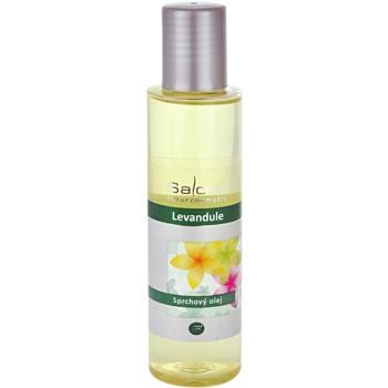 Saloos Shower Oil huile de douche lavande (Shower oil) 125 ml