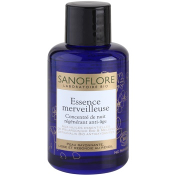 Sanoflore Merveilleuse soin de nuit anti-rides (Regenerating and Anti-Ageing Night Concentrate) 30 ml
