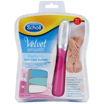 Scholl Velvet Smooth lime à ongles électrique (Pink)  pcs