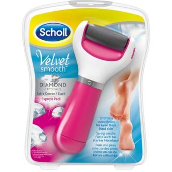Scholl Velvet Smooth râpe pieds électrique (Extra Fort)