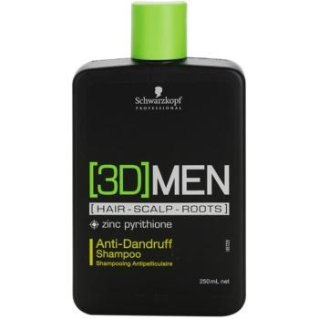 Schwarzkopf Professional [3D] MEN shampoing anti-pelliculaire (Anti-Dandruff Shampoo) 250 ml