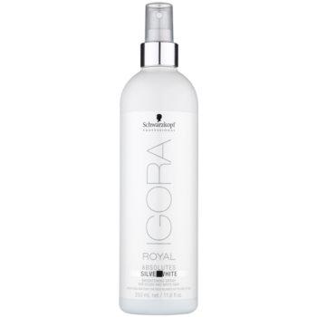 Schwarzkopf Professional IGORA Royal Absolutes SilverWhite spray éclat sublimateur de couleur (Brightening Spray for Silver and White Hair) 350 ml