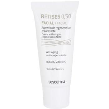 Sesderma Retises crème régénération intense au rétinol et vitamine C 0,50 30 ml