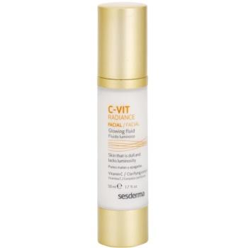 Sesderma C-Vit Radiance fluide illuminateur pour peaux fatiguées (Vitamin C) 50 ml