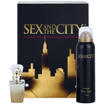 Sex and the City Sex and the City coffret cadeau I. eau de parfum 30 ml + déodorant en spray 150 ml