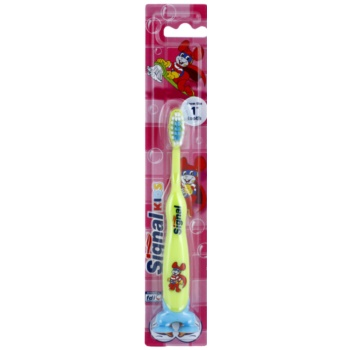 Signal Kids brosse à dents pour enfants Green (From The 1 St Tooth)