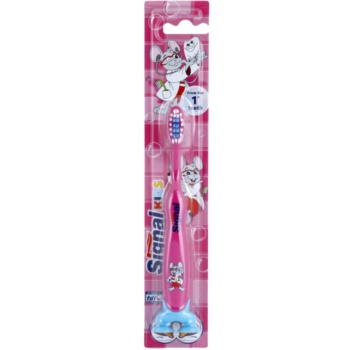 Signal Kids brosse à dents pour enfants Pink (From The 1 St Tooth)