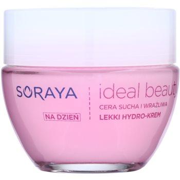 Soraya Ideal Beauty crème légère hydratante pour peaux sèches à sensibles (Hydro Block Complex and Hyaluronic Acid) 50 ml