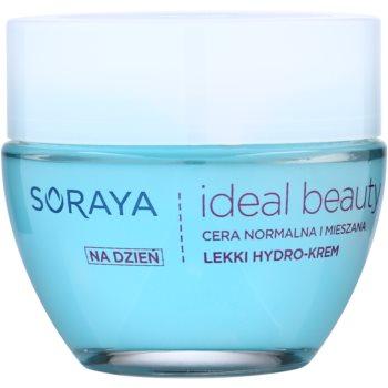 Soraya Ideal Beauty crème légère hydratante pour peaux normales à mixtes (Hydro Block Complex + Hyaluronic Acid) 50 ml