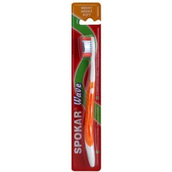 Spokar Wave brosse à dents soft Orange